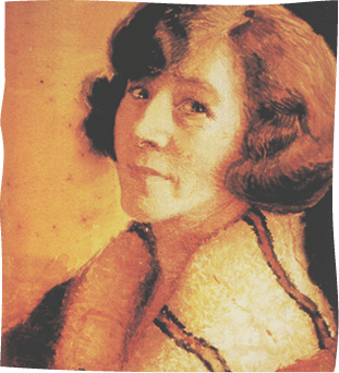 May Gibbs Autoportrait