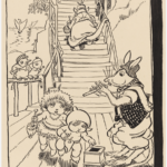 MAY GIBBS, PEN & INK DRAWING, FROM ILLUSTRATIONS FOR NEWSPAPER COLUMN 'GUMNUT GOSSIP', PXD 304 / VOL. 9 / 1019
