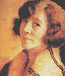 May Gibbs Autoportrait