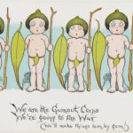 We are the Gumnut Corps<br /> We're going to the War<br /> (we'll make things hum, by gum!)