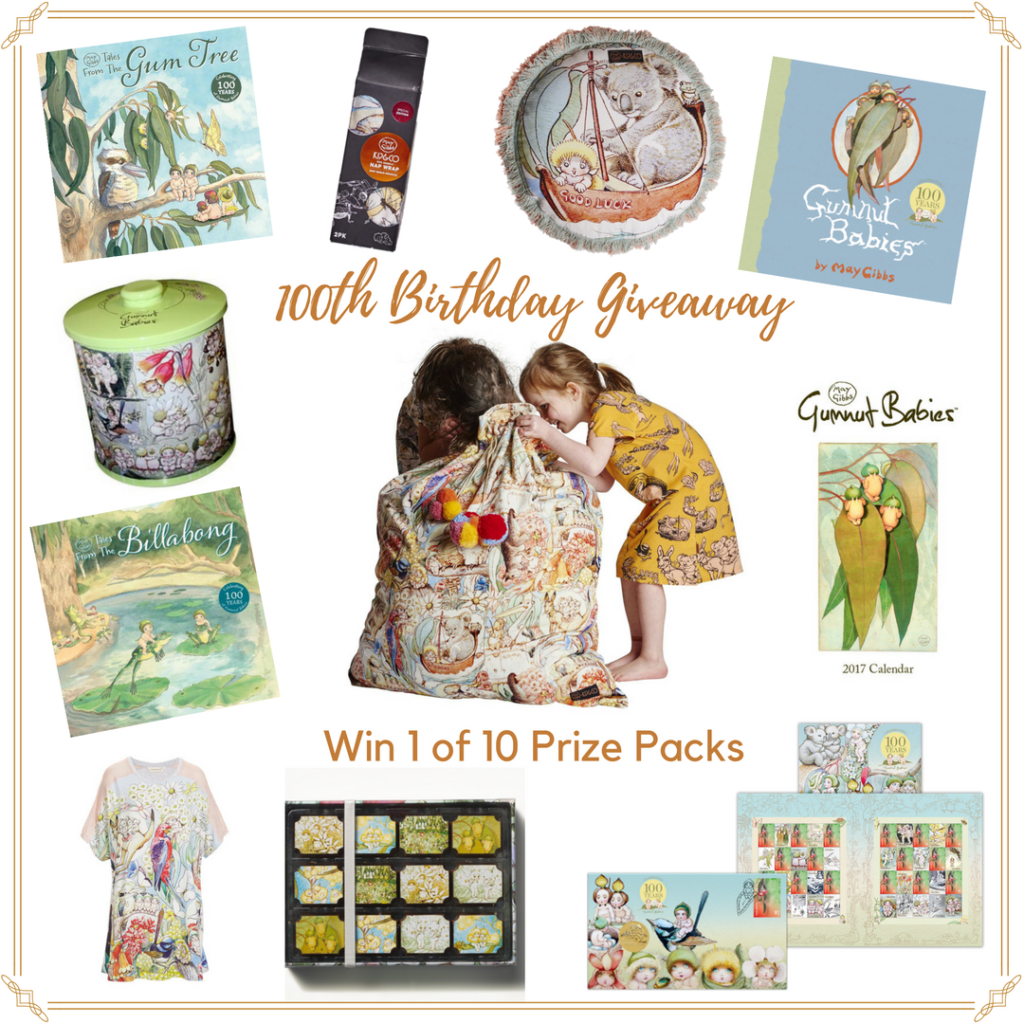 Win a May Gibbs Gumnut Babies 100th Birthday prize pack
