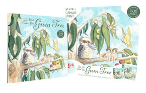 Tales from the Gum Tree Book & Canvas Print