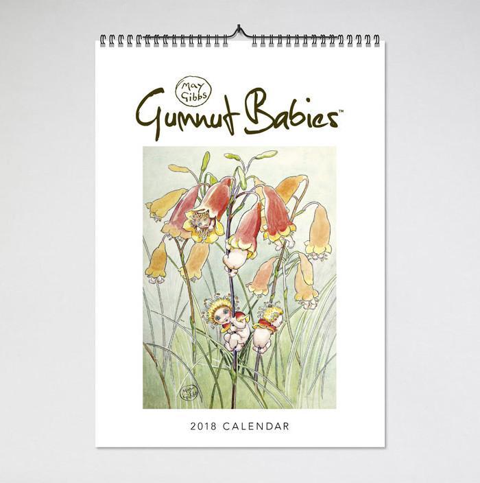 May Gibbs 2018 Calendar front