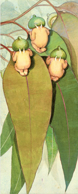 May Gibbs Gumnut Babies bookmark