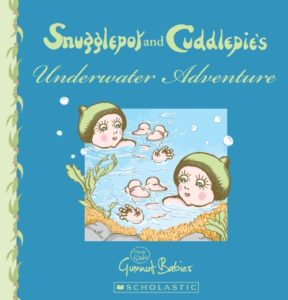 Snugglepot and Cuddlepie's Underwater Adventure paperback book