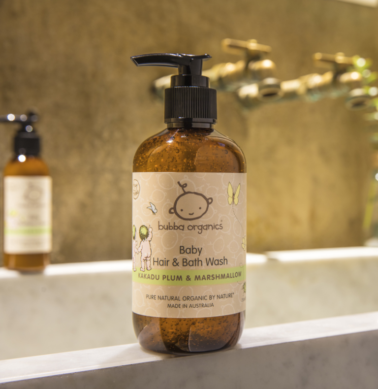 May Gibbs x Australian Kakadu Plum & Marshmallow Baby Hair & Bath Wash