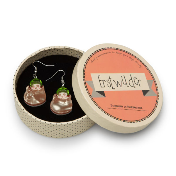 Erstwilder x Gumnut Babies Snugglepot Earrings