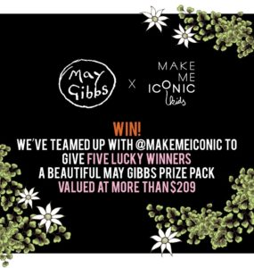 Win a May Gibbs Prize Pack from Kip& Co and Make Me Iconic