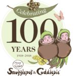 Snugglepot and Cuddlepie 100 Years logo