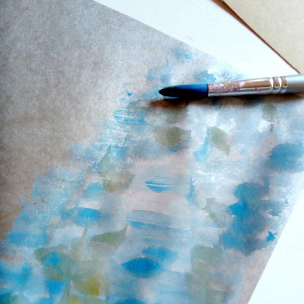 Australian Animal Craft Project: Mrs Kookaburra watercolour painting