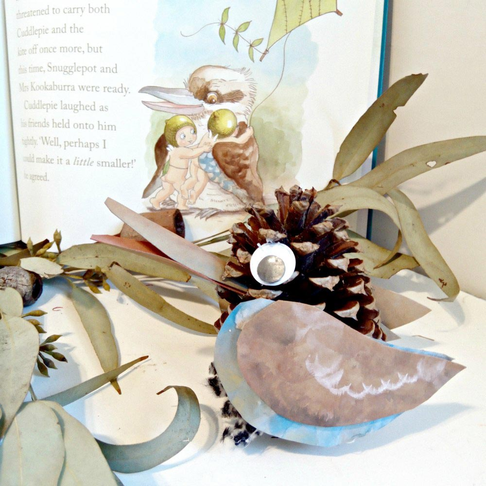 Australian Animal Craft Project – Kookaburra Craft
