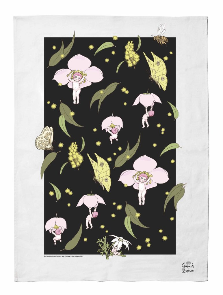 May Gibbs Iconic Tea Towel