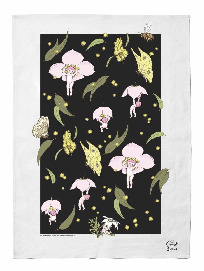 May Gibbs Iconic Tea Towel