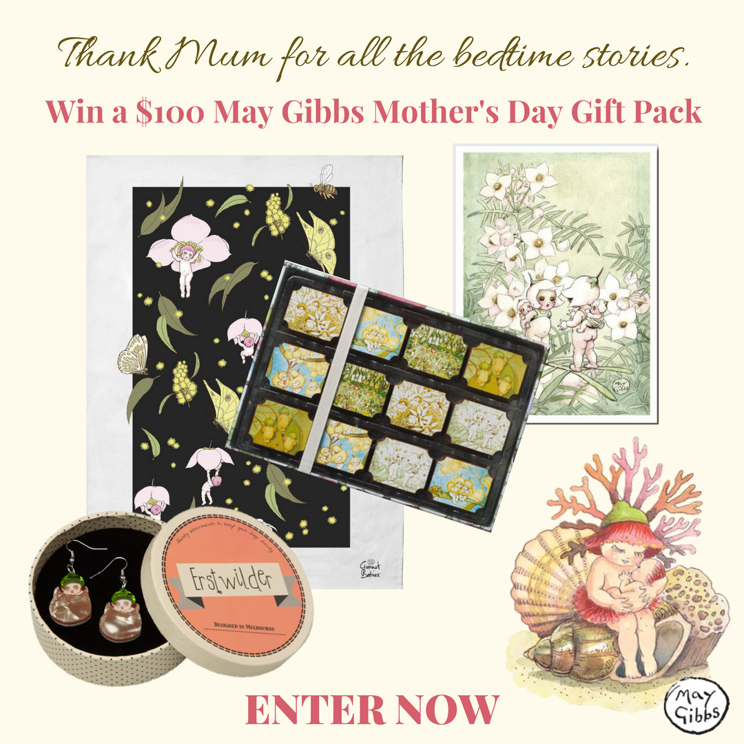 Win a $100 May Gibbs Mother's Day Gift Pack