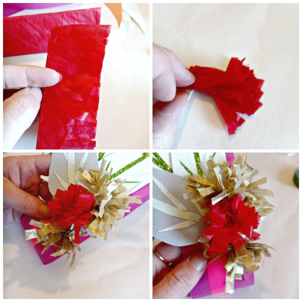 vivid festival paper flowers for craft