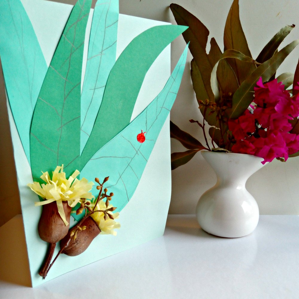 Mothers Day Is Here – Make Mum A Lovely And Bright Australian Bush Themed Card