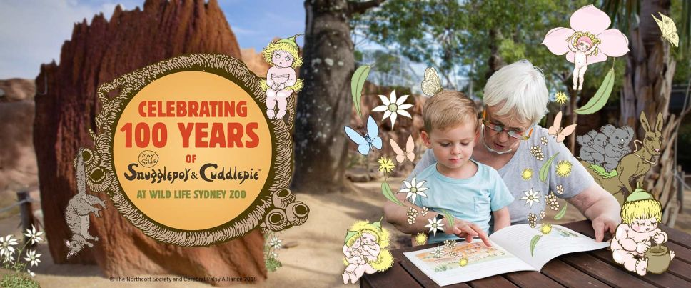 Snugglepot and Cuddlepie celebrate 100 Years at WILD LIFE Sydney Zoo