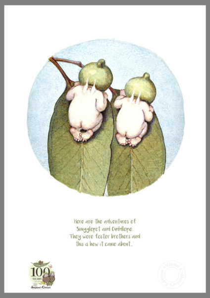 Snugglepot and Cuddlepie centenary Collectors Edition art print