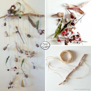 Nature craft - wall hanging