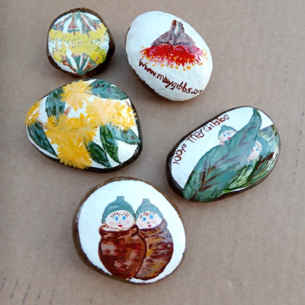 Jump on the Rock Drop Craze! Painted Rock Craft Project