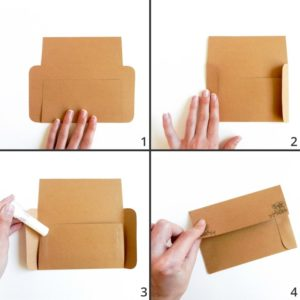 printable envelope instructions