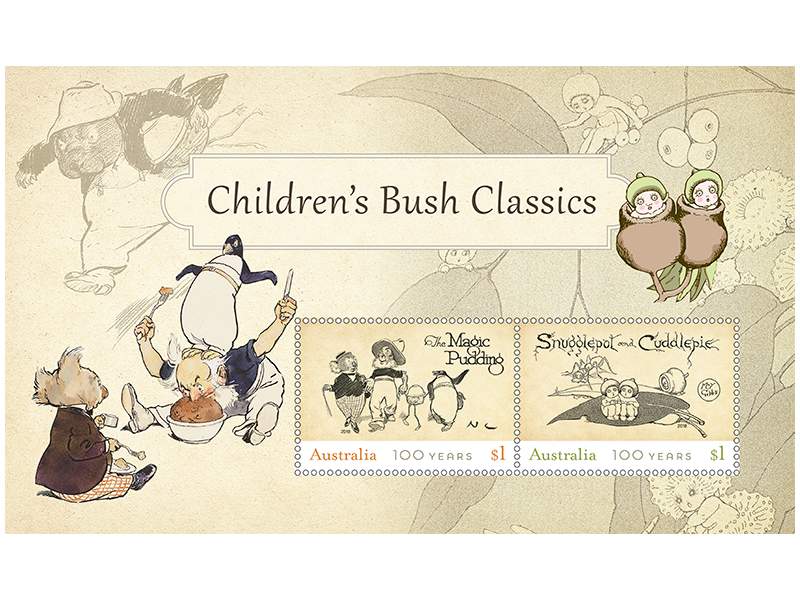 Children's Bush Classics Minisheet