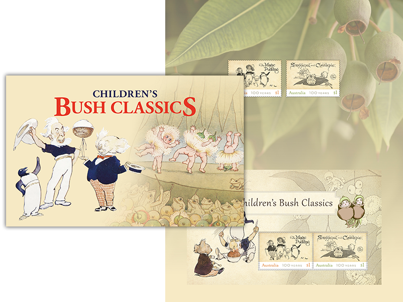Children's Bush Classics Stamp Pack