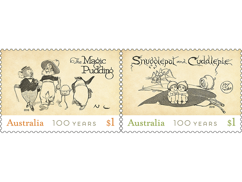 Children's Bush Classics Stamp Set