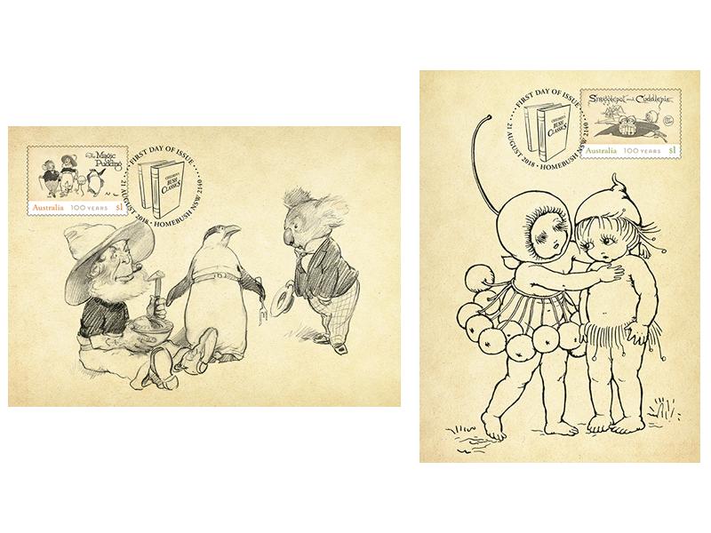 Children's Bush Classics maxicard set a