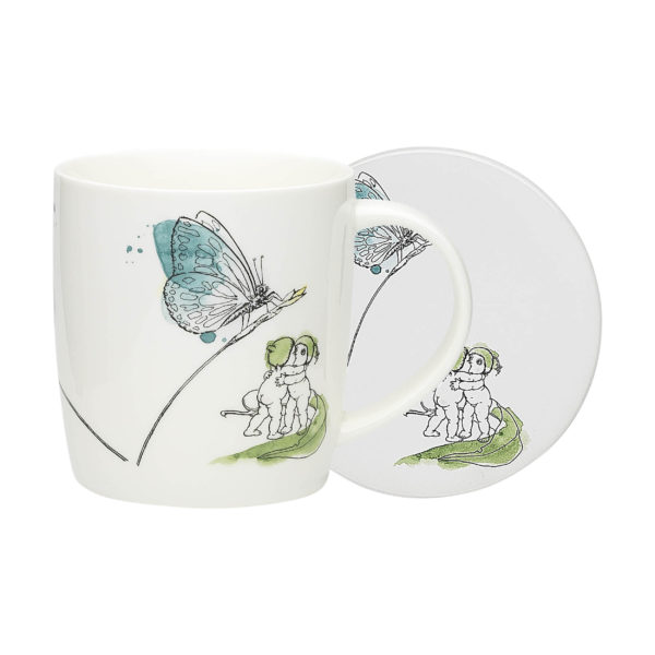 May Gibbs by Ecology Butterfly Mug & Coaster