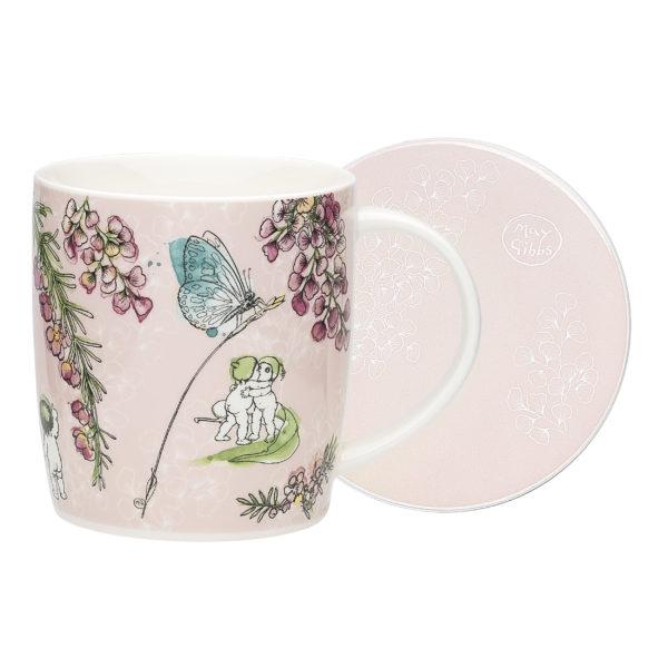 May Gibbs by Ecology Riverbank Mug & Coaster