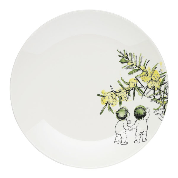 May Gibbs by Ecology Wattle Side Plate