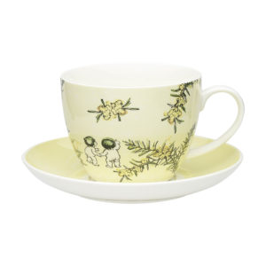 May Gibbs by Ecology Wattle Cup & Saucer