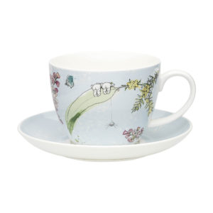 May Gibbs by Ecology Boronia Cup & Saucer