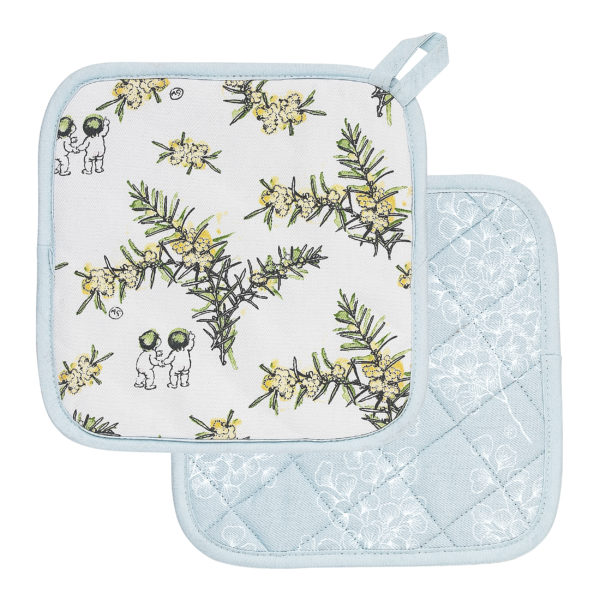 May Gibbs by Ecology Wattle Pot Holders