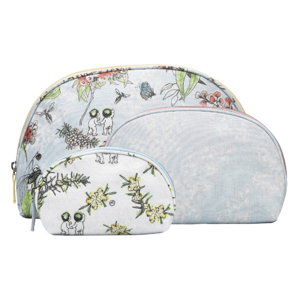 Ecology Cosmetic Bag 3pc Set
