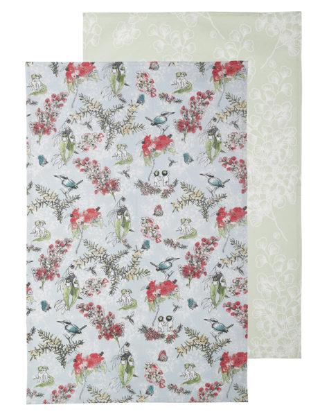 May Gibbs by Ecology Blossom Tea Towel Set