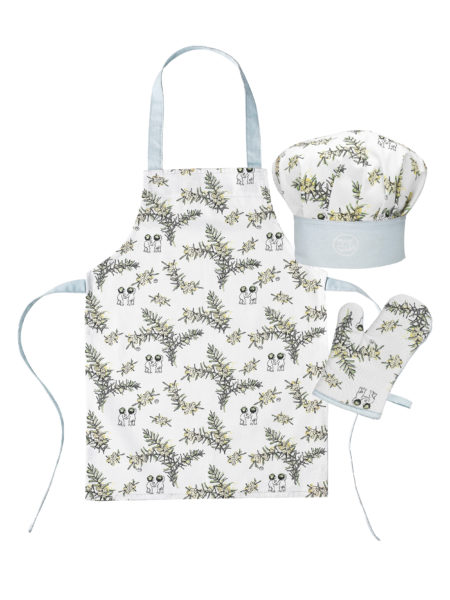 May Gibbs by Ecology Children's Chef Set Wattle
