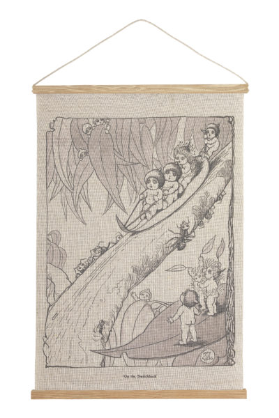 May Gibbs by Ecology Canvas Wall Hanging - On The Switchback