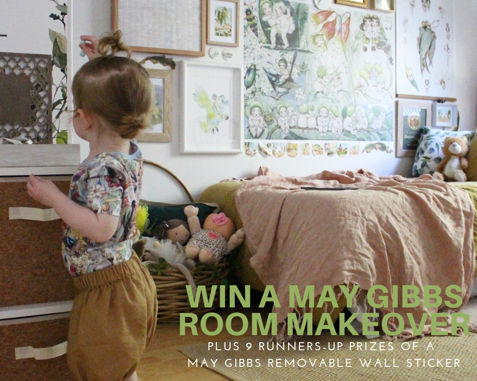 Win a May Gibbs Room Makeover