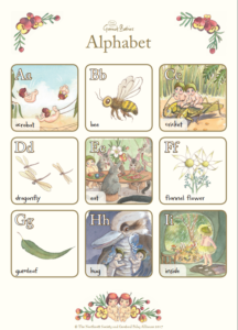 May Gibbs Gumnut Babies Alphabet Activity Sheet sample