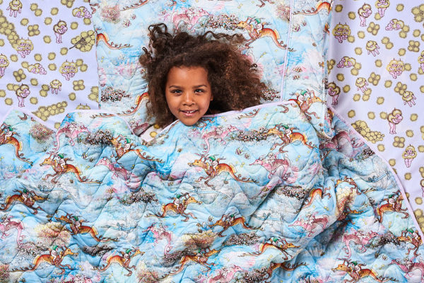 MAY GIBBS X KIP&CO OCEAN BABES QUILTED BEDDING