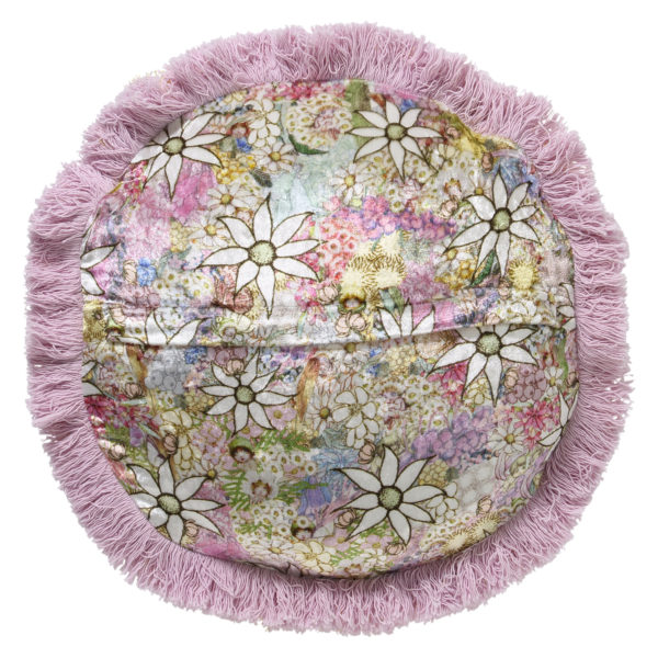MAY GIBBS X KIP&CO FLORA & FAUNA VELVET PEA CUSHION