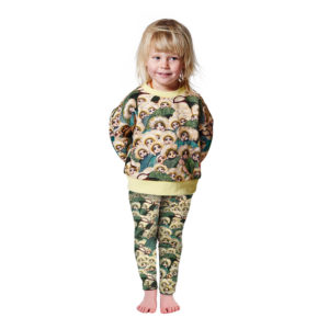 MAY GIBBS X KIP&CO PEEK-A-BOO JERSEY SWEATER & LEGGINGS