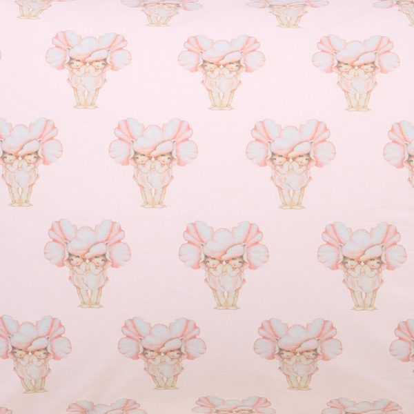 MAY GIBBS X KIP&CO PRETTY LADY PINK FITTED SHEET