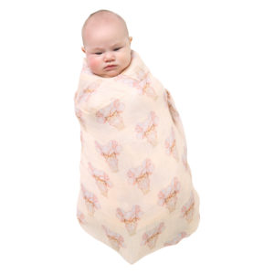 MAY GIBBS X KIP&CO PRETTY LADY SINGLE SWADDLE