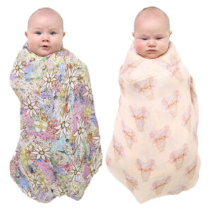 MAY GIBBS X KIP&CO PRETTY LADY & FLORA & FAUNA SWADDLE SET