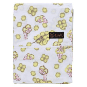 MAY GIBBS X KIP&CO WATTLE BABIES FLAT SHEET
