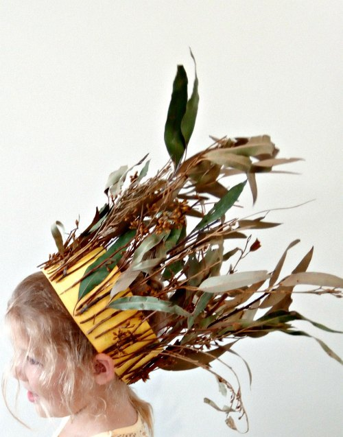 "Sometimes it's the simple things that bring the most joy. May daughter just wanted a fairy crown for her Easter hat this year, how to make that ""Easter"" approved for school I used yellow card. To make it ""fairy"" I suggested an Easter Bush Fairy Crown."