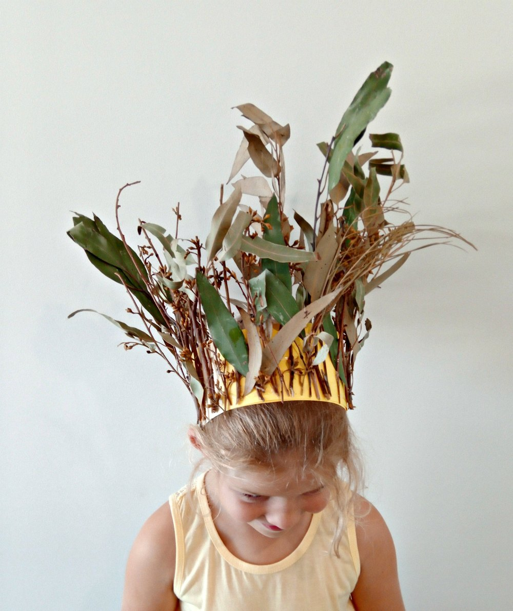 Easter Bush Fairy Crown.